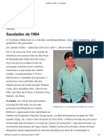 Saudades de 1964 — CartaCapital - Ódio à Marcelo Madureira
