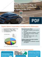 Corporate Environmental Management and Strategy Fall 16 - Toyota Presentation
