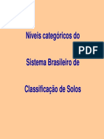 Pedologia - Sistema B. C. Solos