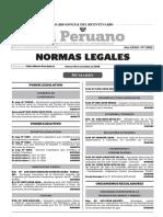 Normas Legales El Peruano Numero 13892 Sab 10 Dic 2016