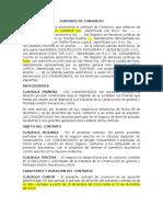Contrato de Consorcio Tchl - Wll