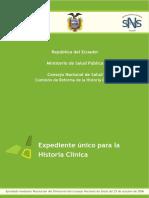 Historia Clinica MSP