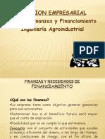 Finanzas y Financiamiento