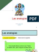 analogias ppt