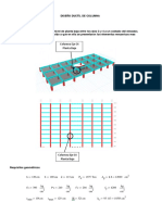 Diseño ductil de columna Columna