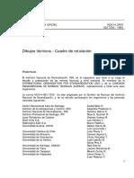 002_NCh14 Of93 Cuadro de Rotulación
