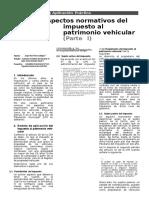 Impuesto Al Patrimonio Vehicular 1