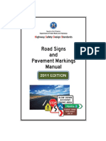 DPWH Road Signs and Pavement Markings