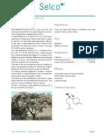 Alpha Bisabolol Natural (C) Leaflet
