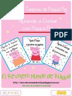 Cuardeno de Juegos. Peppa Pig. Contar (A4)