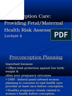 PreConception Care