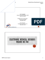 Electronic Medical Record Forensics