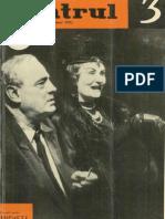 Revista Teatrul, nr. 3, anul VIII, martie 1963