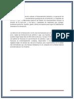 Estimulación Por Fracturamiento Hidráulico y Su Impacto en El Medio Ambiente