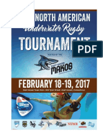 16th North American Underwater Rugby Invitation