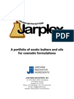 Jarplex Exotic Butters Oils