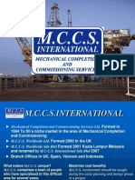 Mccs Presentation Comm & Maintenance