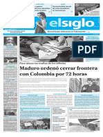 Edición Impresa Elsiglo 13-12-2016