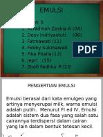 ILMU RESEP (EMULSI)