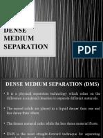 Dense Medium Separation