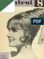 Revista Teatrul, nr. 8, anul VIII, august 1963
