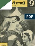 Revista Teatrul, nr. 9, anul VIII, septembrie 1963
