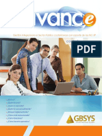 ERP para sector público en Costa Rica - GBSYS-Avance Brochure - V2016