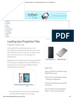 Load Java Properties Files. Loading Properties Files in Java