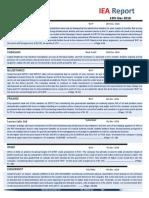 IEA Report 13th December