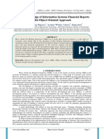 Analysis and Design of Information Systems Financial Reports with Object Oriented Approach