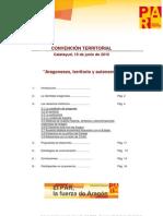 Aragoneses, Territorio y Autonomia