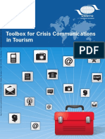 UNWTO Toolbox Crisis Communications in Tourism