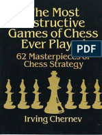 [Irving Chernev] the Most Instructive Games of Chess