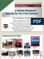Dr Sam Mannan - QPSS 2013 presentation
