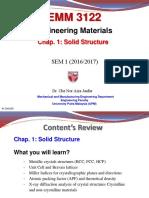 S EMM3122 Chap.1 Solid Structure Part 1 Sept 2016 CNAJ