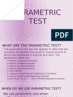Parametric Test