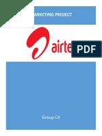 AIRTEL Marketing Project