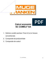 Calcul Economic Time-S-Cut D52