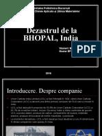 Dezastrul de La BHOPAL, India