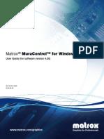 En Matrox MuraControl Windows User Guide