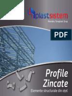 Brosura Profile Zincate RO