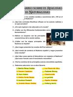 Cuestionario Sobre El Realismo y El Naturalismo1