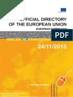 Directorio cargos UE