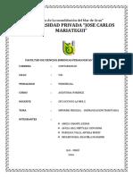 Informe Pericial Defraudacion Tributaria