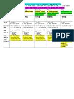 grade 4 blue homework calendar- q 2 week 9