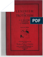 Leninism or Trotskyism