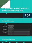 FY2016 Web Analytics Report - Islands Society