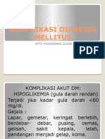 Komplikasi Diabetes Mellitus