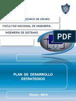 Plan Desarrollo Sistemas