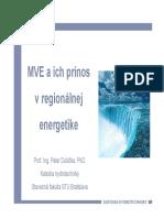 Dušička - MVE a ich prínos v regionálnej energetike